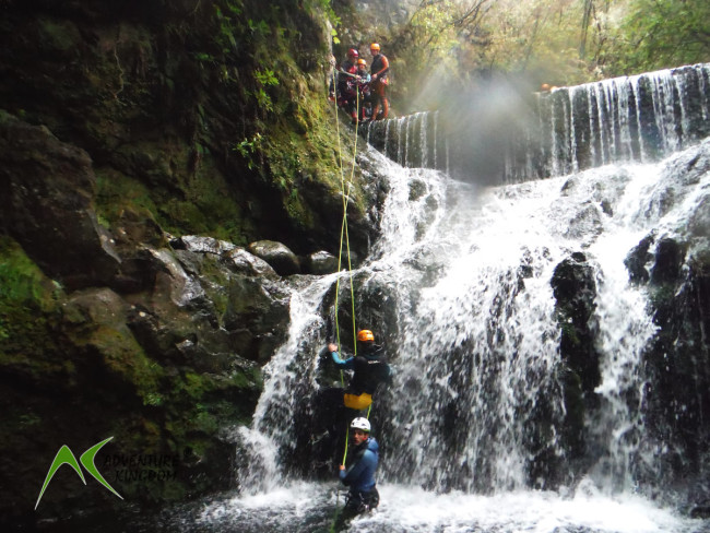 Canyoning na Maderze. Fot. Adventure Kingdom